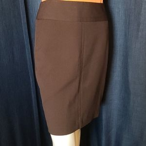 The Limited Chocolate Brown Pencil Skirt